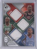 Michael Jordan, Kevin Durant, Lebron James, Kobe Bryant, Julius Erving /99