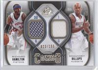Richard Hamilton, Chauncey Billups /155