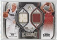 Jason Kidd, Tracy McGrady /155