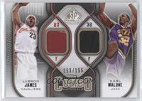 Lebron James, Karl Malone /155