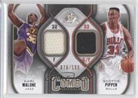 Scottie Pippen, Karl Malone /155