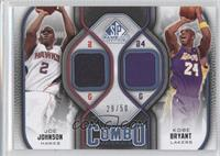Joe Johnson, Kobe Bryant /50