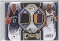 Mike Conley, Javaris Crittenton /99