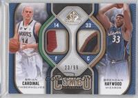 Brian Cardinal, Brendan Haywood /99