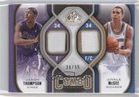 Jason Thompson, JaVale McGee /99