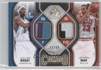 Julian Wright, Joakim Noah /99