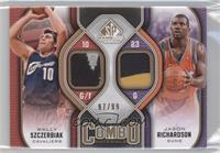 Wally Szczerbiak, Jason Richardson /99