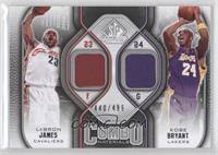 Lebron James, Kobe Bryant /499
