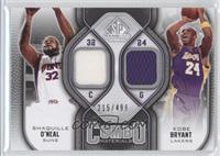 Shaquille O'Neal, Kobe Bryant /499