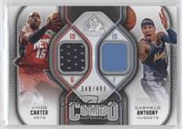 Vince Carter, Carmelo Anthony /499