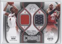 Chris Bosh, Vince Carter /499