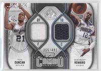 Tim Duncan, Dwight Howard /499