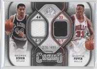 George Gervin, Scottie Pippen /499