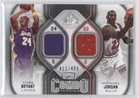 Kobe Bryant, Michael Jordan /499