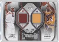 Lebron James, Magic Johnson /499