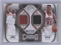 Lebron James, Scottie Pippen /499