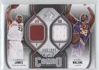Lebron James, Karl Malone /499