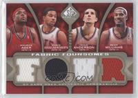 Maurice Ager, Chris Douglas-Roberts, Ryan Anderson, Sean Williams /125