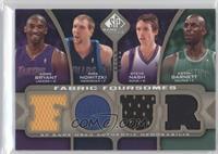 Kobe Bryant, Dirk Nowitzki, Steve Nash, Kevin Garnett /125