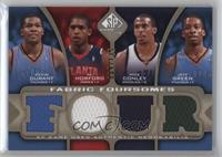 Kevin Durant, Jeff Green, Al Horford, Mike Conley /135