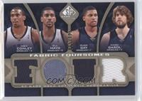 Mike Conley, O.J. Mayo, Rudy Gay, Marc Gasol /125