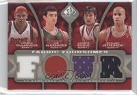 Charlie Villanueva, Joe Alexander, Andrew Bogut, Richard Jefferson /125