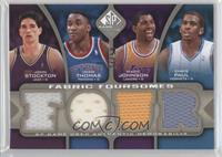 Isiah Thomas, Marion Jones, Chris Paul, John Stockton, Magic Johnson /50