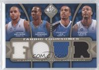 Jameer Nelson, Dwight Howard, Courtney Lee, Rashard Lewis /50