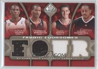 Thaddeus Young, Marreese Speights, Jason Smith, Donyell Marshall /50
