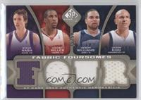 Steve Nash, Andre Miller, Deron Williams, Jason Kidd /50