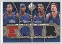 Chris Duhon, Quentin Richardson, Wilson Chandler, David Lee /50