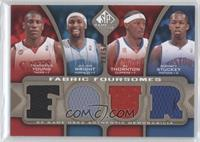 Thaddeus Young, Julian Wright, Al Thornton, Rodney Stuckey /50