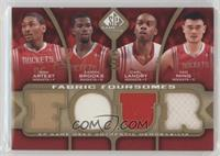 Metta World Peace, Aaron Brooks, Carl Landry, Yao Ming /35