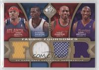 Desmond Mason, Vince Carter, Kobe Bryant, Josh Smith /35