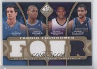 J.J. Redick, Ronnie Brewer, Cedric Simmons, Shelden Williams /35