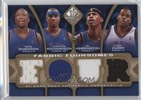 Nate Robinson, Quentin Richardson, Al Harrington, Eddy Curry /35