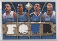 Jameer Nelson, Dwight Howard, Courtney Lee, Rashard Lewis /35