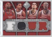 Maurice Ager, Chris Douglas-Roberts, Ryan Anderson, Sean Williams /199