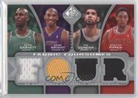 Kevin Garnett, Kobe Bryant, Tim Duncan, Scottie Pippen /199