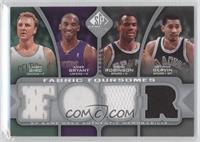 Larry Bird, Kobe Bryant, George Gervin, David Robinson /199