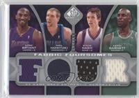 Kobe Bryant, Dirk Nowitzki, Steve Nash, Kevin Garnett /199