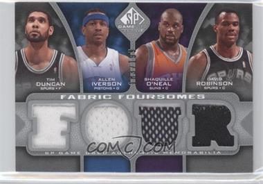 2009-10 SP Game Used Fabric Foursomes #F4-DIOR - [Missing] /199