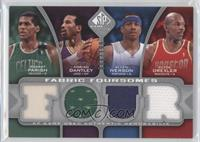 Adrian Dantley, Allen Iverson, Clyde Drexler, Robert Parish /199