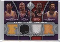 Kareem Abdul-Jabbar, Michael Jordan, Karl Malone, Wilt Chamberlain /199