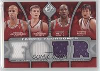 Richard Jefferson, Luke Ridnour, Michael Redd, Andrew Bogut /199