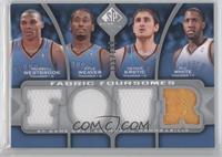 Russell Westbrook, Kyle Weaver, Nenad Krstic, D.J. White /199