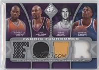 Shaquille O'Neal, Karl Malone, Patrick Ewing, Jerry West /199