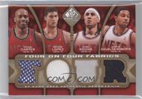 Vince Carter, Brook Lopez, Josh Boone, Chris Douglas-Roberts, Chris Bosh, Andre…