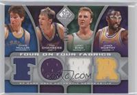 Tom Chambers, Larry Bird, James Worthy, Kevin McHale, Scottie Pippen, Karl Malo…