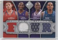 Eric Gordon, Kobe Bryant, Jason Richardson, Randy Foye, Brandon Roy, Ronnie Bre…